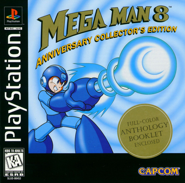 MegaMan 8 Front Cover